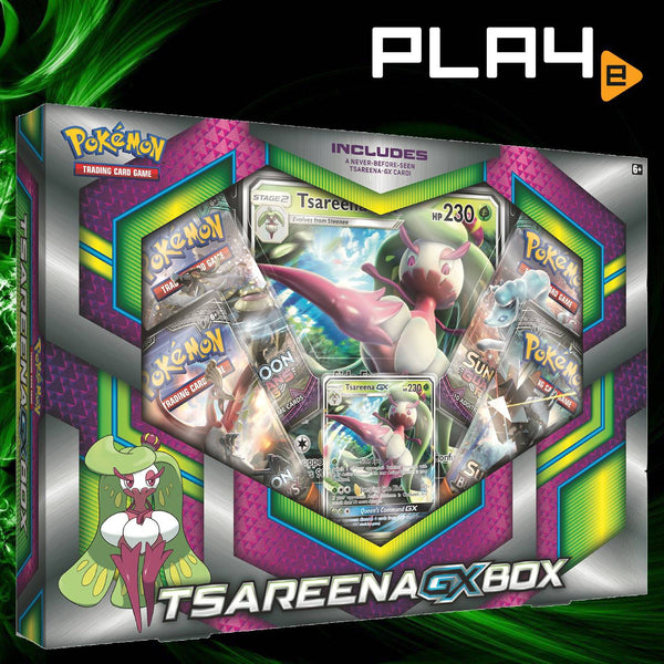 Pokemon TCG Tsareena GX Box