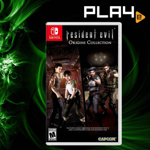 Nintendo Switch Resident Evil Origins Collection