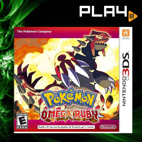 3DS Pokemon Omega Ruby English