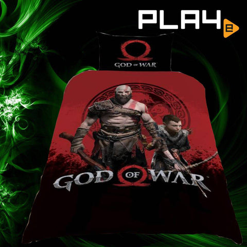 God of War Warriors Single Duvet cover And Pillowcase