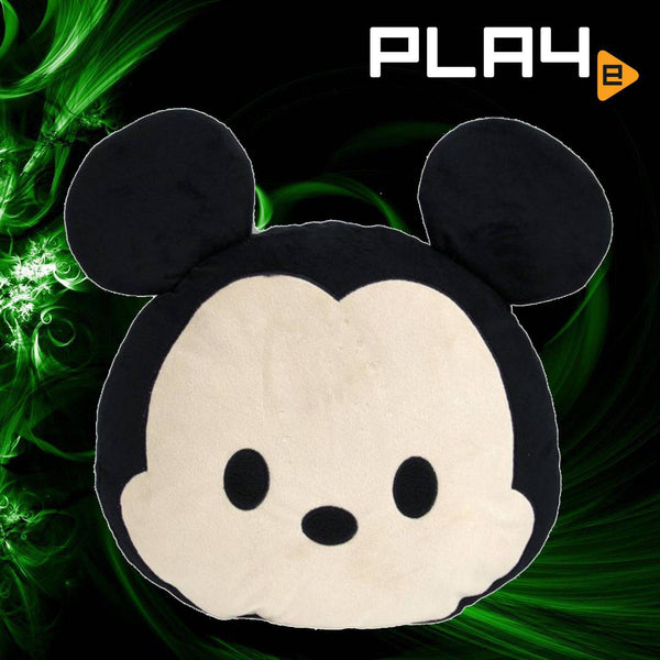 Tsum Tsum Mickey Face Cushion From Japan