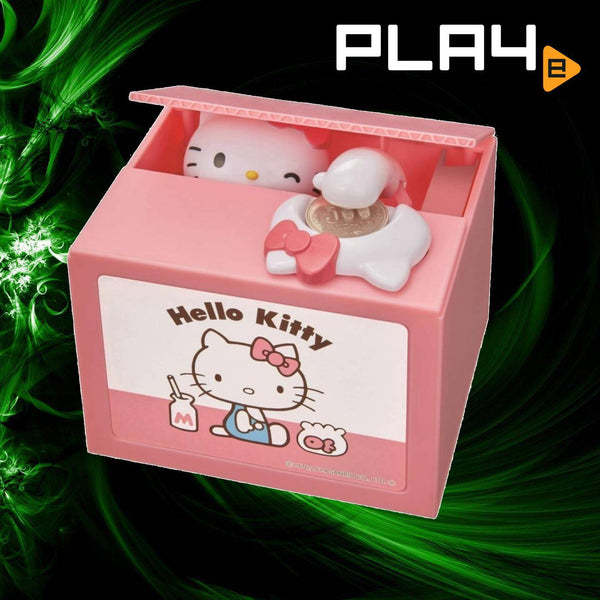 Shines Hello Kitty Coin Bank With Music