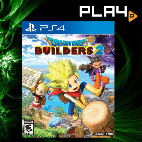 PS4  Dragon Quest Builders 2