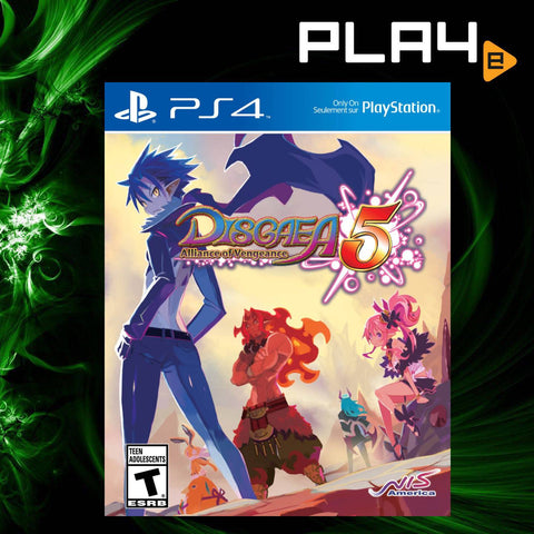 PS4 Disgaea 5: Alliance of Vengeance (R1)