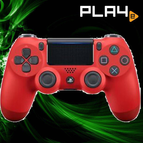 PS4 Dual Shock 4 Magma Red