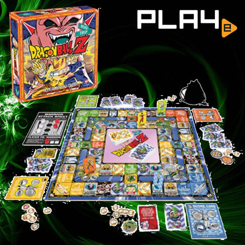 Dragon Ball Z Road Trip Board Game