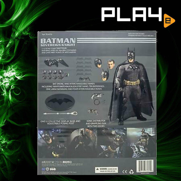 MezcoToyz Batman Sovereign Knight 1/12 Figure