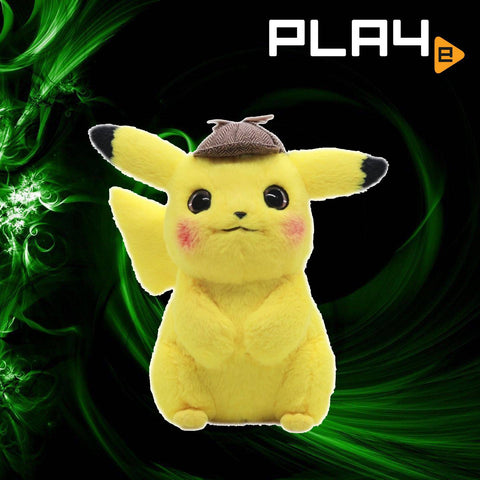 Detective Pikachu Movie Official  11'' Pikachu Plush