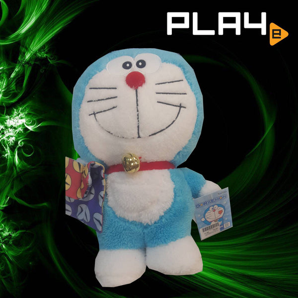 Doraemon 12'' With Handkerchief  (No 11)