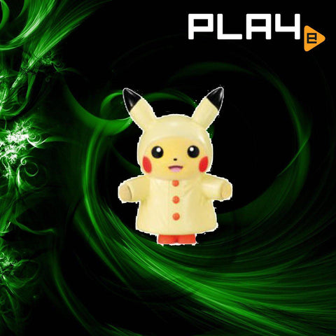 Pokemon Fluffy Doll 3 - (3) Raincoat Pikachu