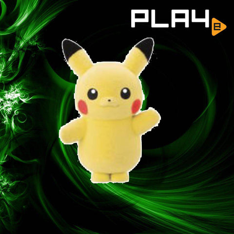 Pokemon Fluffy Doll 3 - (1) Pikachu