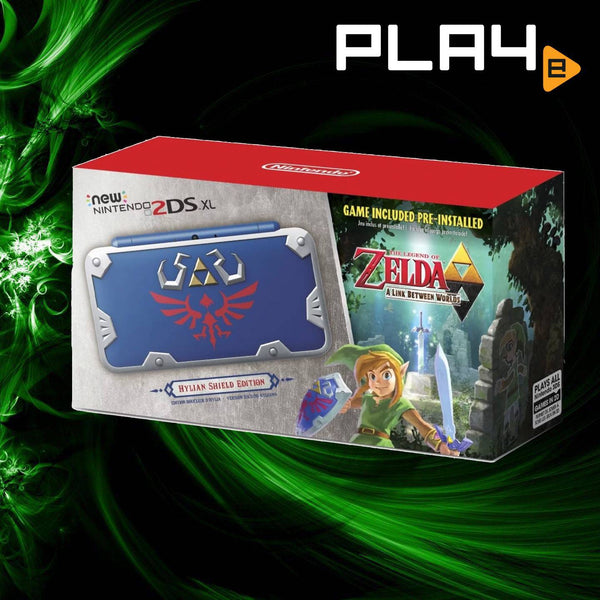 2DS New XL Console - Zelda Hylian Shield Edition