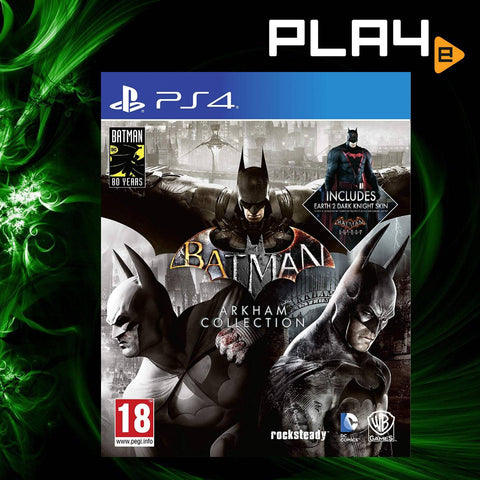 PS4 Batman Arkham Collection (EU)