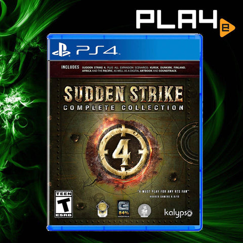 PS4 Sudden Strike 4 Complete Collection (R1)