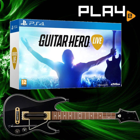 PS4 Guitar Hero Live Bundle
