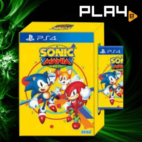 PS4 Sonic Mania Plus Limited Edition