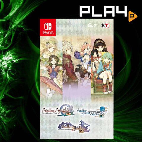 Nintendo Switch Atelier Dusk Trilogy Deluxe Pack (Local)