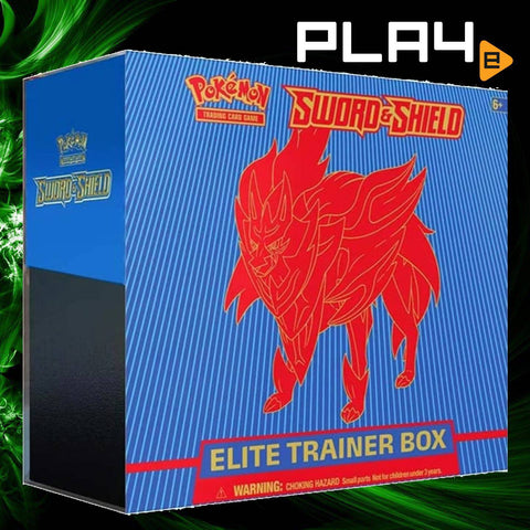 Pokemon SS1 Sword & Shield Blue Elite Trainer Box