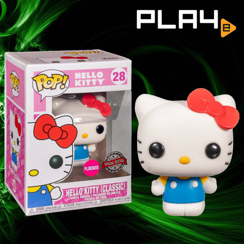 Funko POP! (28) Hello Kitty Classic Flocked Special