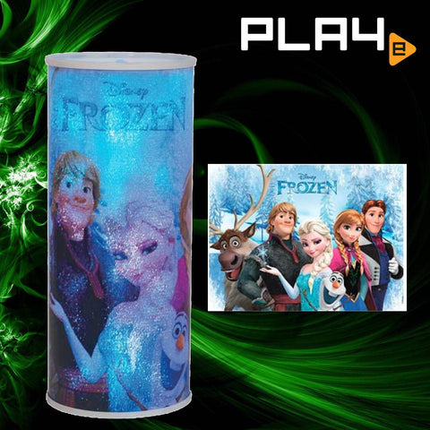 Disney Frozen Characters Cylindrical Nightlight