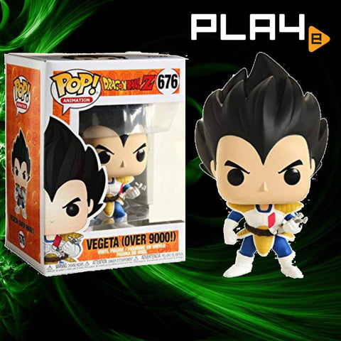 Funko POP! (676) Dragon Ball Z Vegeta (Over 9000) Special