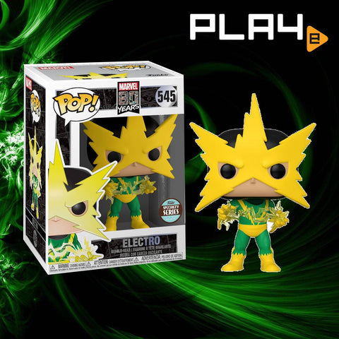 Funko POP! (545) Marvel 80 Years Electro Specialty