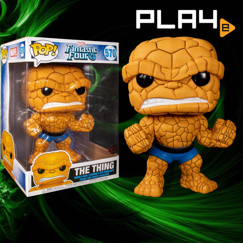 Funko POP! (570) Fantastic Four The Thing 10""