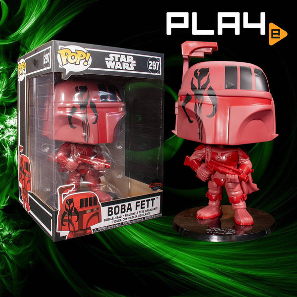 Funko POP! (297) Star Wars Boba Fett 10