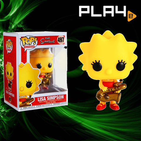 Funko POP! (497) The Simpsons Lisa Simpson