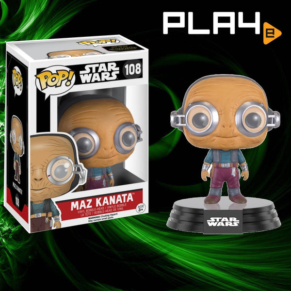 Funko POP! (108) Star Wars Maz Kanata
