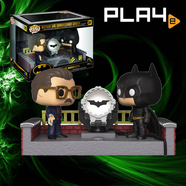 Funko POP! (291) Light Up Batman & Commissioner Gordon