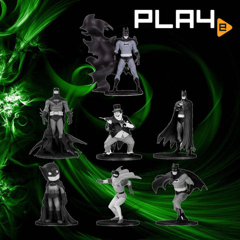 Batman Black / White Mini 7-Piece Box Set 4