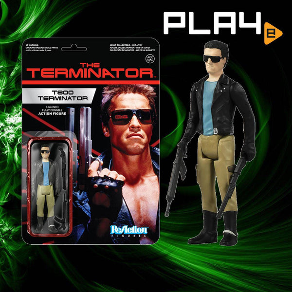 Terminator T-800 Leather Jacket 3 3/4 Figure