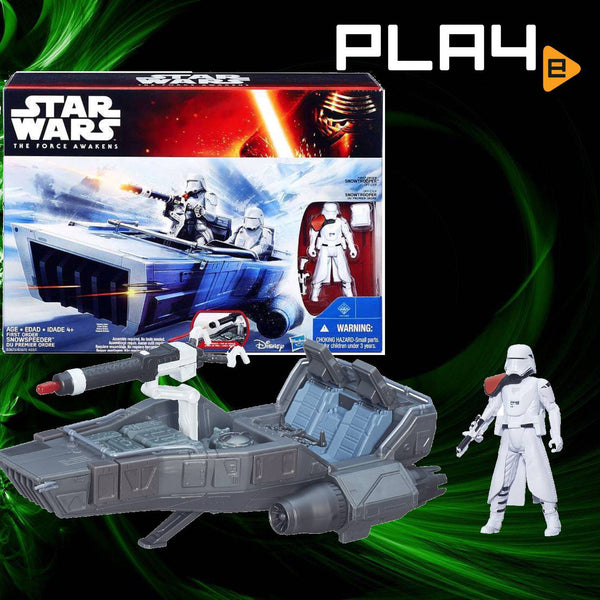 Star Wars E7 Class 2 Vehicle First Order Snowspeeder