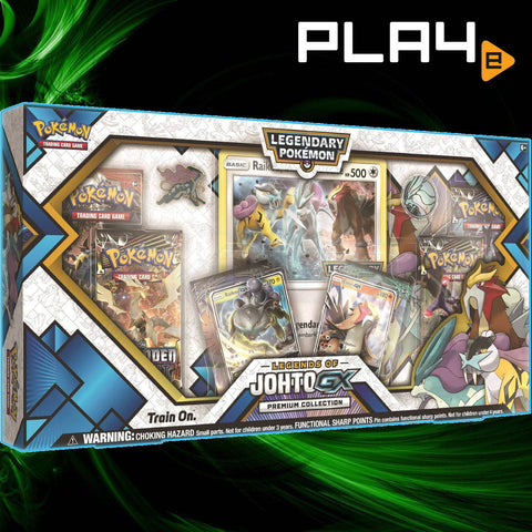 Pokémon TCG Legends of Johto GX Box