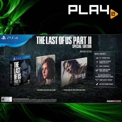 PS4 The Last of Us 2 (Regular/Special/Collector) (R3)