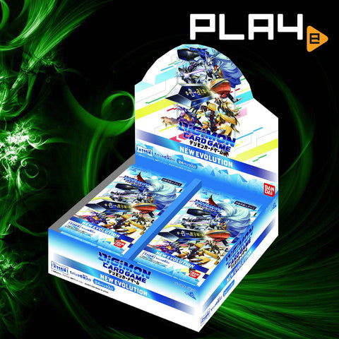 Digimon Card Game BT-01 New Evolution Booster