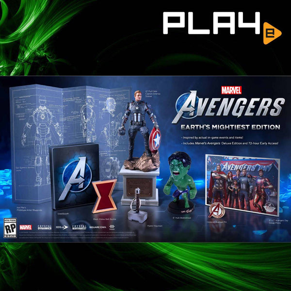 PS4 Marvel's Avengers Collector's Edition (R3)