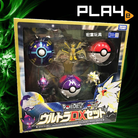 Takara Tomy Pokedel-Z Ultra DX Set