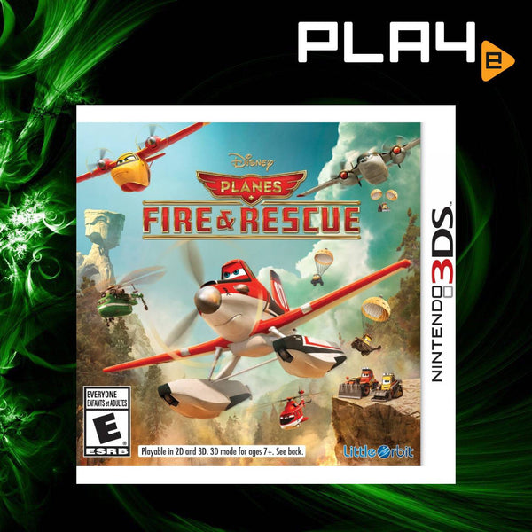 3DS Disney Planes: Fire & Rescue