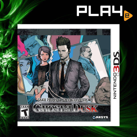3DS Jake Hunter Detective Story: Ghost of the Dusk