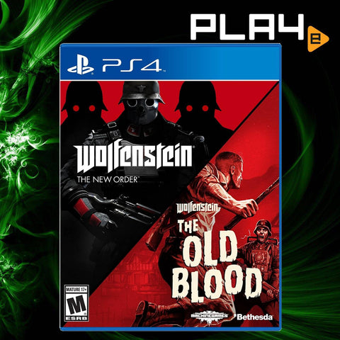 PS4 Wolfenstein 2 Game Pack (US)