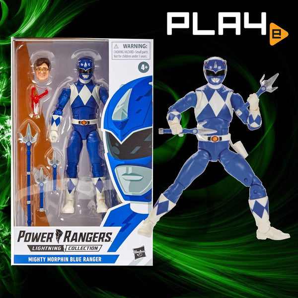 "Power Rangers Lightning E5906AS04 6"" Blue Ranger"