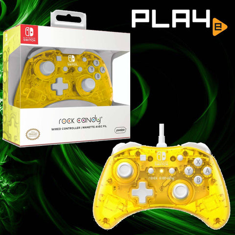 Nintendo Switch PDP Rock Candy Controller Pineapple Pop