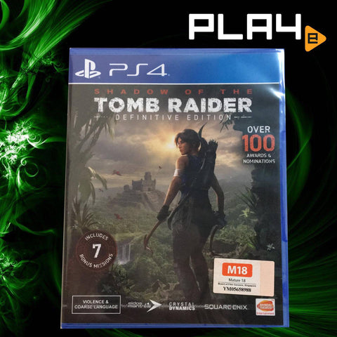 PS4 Shadow of the Tomb Raider: Definitive Edition (R3)