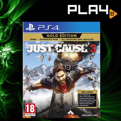PS4 Just Cause 3 Gold Edition (R2)