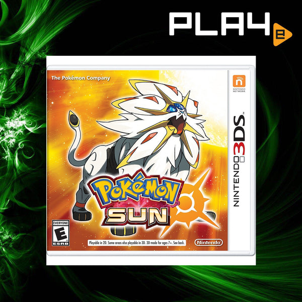 3DS Pokemon Sun (English)