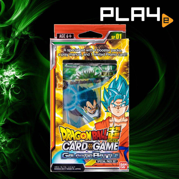 Bandai Dragon Ball Super Galactic Special Pack Set