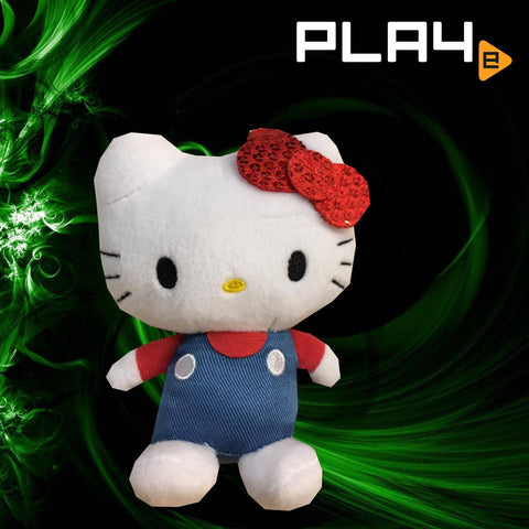"SEGA Plaza Hello Kitty 4"" Red Ribbon"