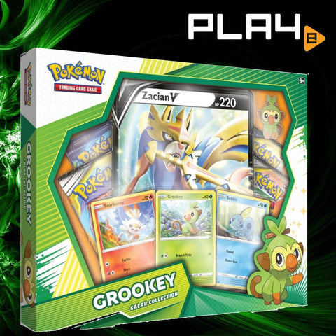 Pokemon TCG Grookey Galar Collection Box